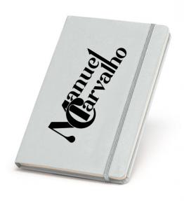 Caderno capa brilhante Manuel Carvalho
