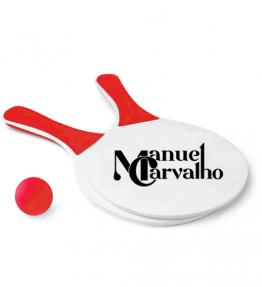 Raquetes de praia Manuel Carvalho